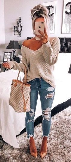 Louis Vuitton Outfit Inspo - Damen Mode Frühling / Spring Outfits - Best Of Women Outfits Look Fashion, Street Fashion, Womens Fashion, Fashion Fall, Ladies Fashion, Trendy Fashion, Fashion Ideas, Fashion Trends, Fashion Advice