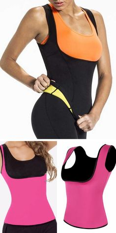 0403b3131d Neoprene Hot Body Shaper Vest Waist Trainer Slimming Vest For Women