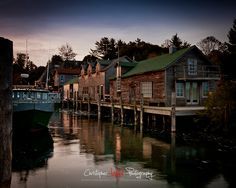 A little fishing village a few miles outside of Traverse City Michigan.