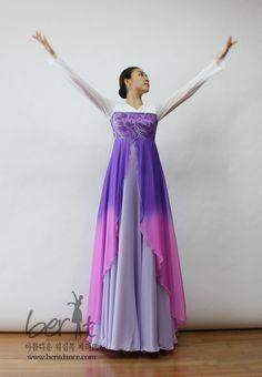 Berit worship dancewear ♡ 아름다운 워십복 베리뜨 ♡ 워십의상 칸타타드레스 worshipdress -