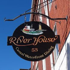 The River House Restaurant,Portsmouth,New Hampshire