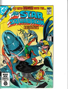 Series search for dc comics all star squadron Online Comic Books, Dc Comic Books, Comic Book Covers, Avengers Comics, A Comics, Bronze Age, Amazing Spider, World War Two, All Star