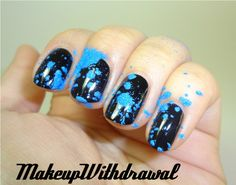 Makeup Withdrawal~how to do the powder manicure. Okay I want to marry this girl and her blog. Love everything in here.