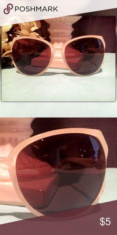 Clear Rimmed Sunglasses Clear Rimmed Sunglasses Forever 21 Accessories Sunglasses