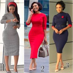 50 African Office outfits to try on – Ankara Lovers - corporate attire women Business Casual Outfits For Women, Classy Work Outfits, Office Outfits, Classy Dress, Chic Outfits, Business Casual Attire, Latest African Fashion Dresses, African Print Fashion, Women's Fashion Dresses