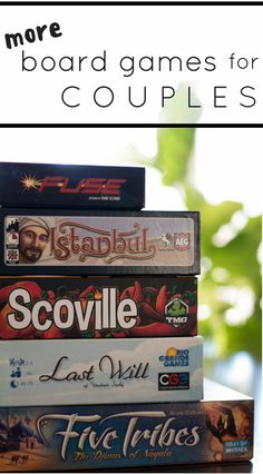 Finally! Another list of fun two player board games! Board games for couples and friends alike.