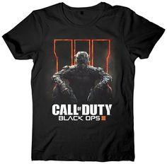 Call of Duty Black Ops 3 T-Shirt -XL-,schwarz