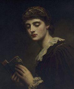 poboh:  Lesbia, James Sant. English (1820–1916)