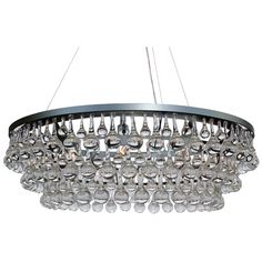 LightUpMyHome 10 Light Crystal Chandelier