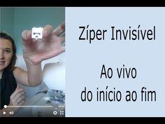 Uma aula feita ao vivo sobre zíper invisível! - Dicas para iniciantes - YouTube