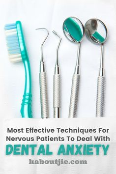 Having a fear of the dentist is very common and in order to have great dental health it is essential that you overcome dental anxiety.