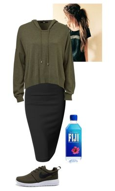 """workout"" by bye18 ❤ liked on Polyvore featuring Doublju and NIKE"