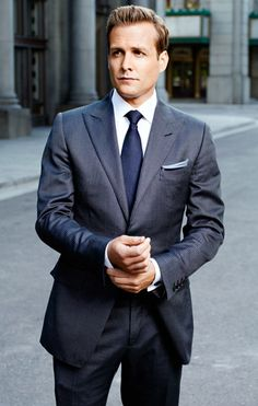 Gabriel Macht - Love his Suits. Photo by Robert Ascroft