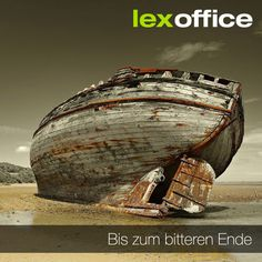 Durchhalten um jeden Preis? Nein. Auch Projekte oder eine Zusammenarbeit kann man beenden, wenn sie sich als nicht tragbar entpuppen. http://www.lexoffice.de/blog/bitteres-ende/