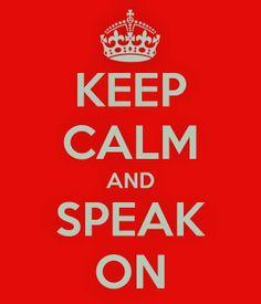 NOTSOPEACHIE: Keep Calm And Speak On My embarrassing birthday speech