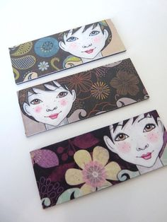 3 cute magnets  Gift set by carambatack on Etsy, $13.00