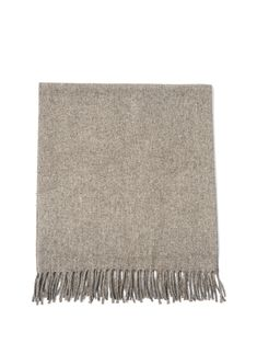 A traditional Mexican blanket textile, made with virgin wool in the beautiful mountainous, pine tree-filled region of Central Mexico. Using only the highest quality softest untreated wool in soft shades of cream, taupe and grey. The sheep are herded in th