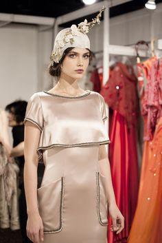 Isabel Zapardiez. Bridal Fashion Week 2017. Photo Maria José Gurbindo