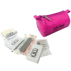 Shop ePromos.com for custom kits that are perfect for the business woman on the go. This custom kit includes 12 personal care accessories in an imprinted case.