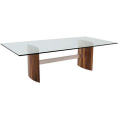 Buy The Jantar Alloy Glass Dining Table by Thomas Hayes Studio - Dining Room Tables - Tables - Furniture - Dering Hall