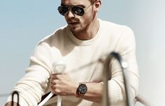Benjamin Eidem Michael Kors Spring Summer 2015 Eyewear Campaign Aviators Sunglasses e1429313647386 800x516 Sunglasses Edit: 5 Must Have Aviators