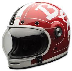 Bell LE Bullitt Skratch Black/Red Full Face Helmet | 754-543