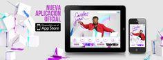 Exito rotundo nuestra ultima aplicacion en MovilForum Conference 2012: la app oficial de #CarlosJean.