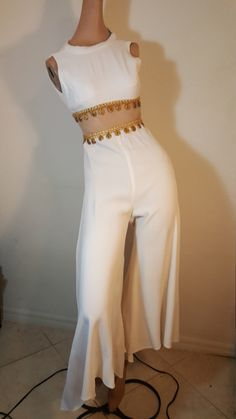 FREE  SHIPPING   Designer  Palazzo  Jumpsuit by VintageRevengCouture on Etsy https://www.etsy.com/listing/456116812/free-shipping-designer-palazzo-jumpsuit