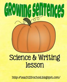 FREE printable - science & writing lesson