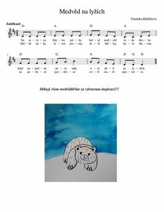 Winter Sports, Sheet Music, Preschool, Songs, Musica, Kid Garden, Winter Sport, Kindergarten, Song Books