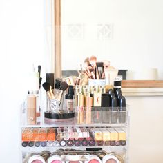 That your make up collection finally reaches blog-worthy status.