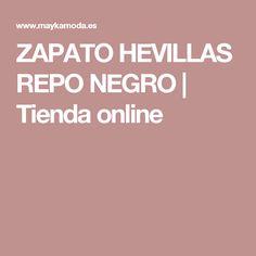 ZAPATO HEVILLAS REPO NEGRO | Tienda online