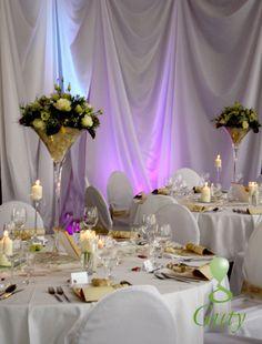 Wedding flower decor  Svadobná kvetinová výzdoba