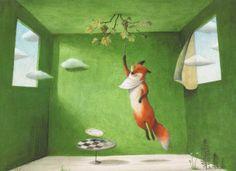 The fox and the grapes - illustrated by Ayano Imai @ Al peggio non c'è mai fine