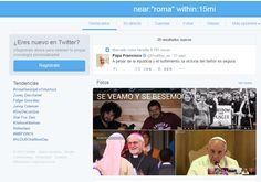 Erromako twitterrean Papa Francisco da gai nagusia.