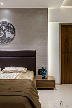 Ideas for apartment design modern side tables Wood Bed Design, Furniture Design, Wall Design, House Design, Modern Bedroom, Bedroom Decor, Bedroom Furniture, Bedroom Headboards, Modern Bedding