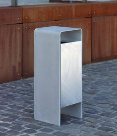 Exterior bins | Street furniture | Versio corpus Litter bin. Check it out on Architonic