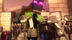 """♫ """"Villagers"""" - A Minecraft Parody Song of """"Sugar"""" By Maroon 5 (Music Vi..."""
