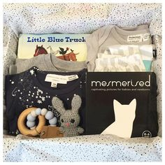 A whole lot of love from an aunt for her new little nephew. Featuring some of Young Willow's softest baby wear with Anarkid and Phoenix and the Fox, plus gorgeous books and toys to delight too.