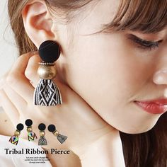 Handmade Jewelry: Real Cost and Reasons to Buy - Tiesy Textile Jewelry, Embroidery Jewelry, Fabric Jewelry, Diy Jewelry, Beaded Jewelry, Jewellery, Fabric Earrings, Lace Earrings, Tribal Earrings