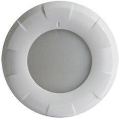 Lumitec Aurora LED Dome Light - White Finish - White/Blue Dimming