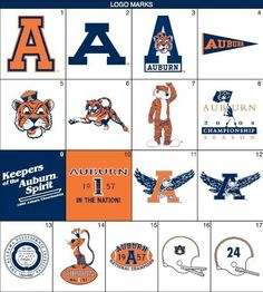 Auburn logos number 5 is my fave