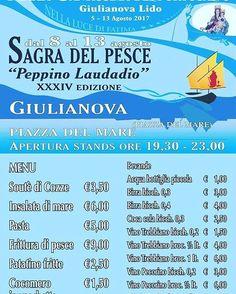 Sagra del Pesce *Festa della Madonna del Portosalvo*⠀ Giulianova | Eventi Teramo ⠀ #eventiteramo #eventabruzzo #amazing #art #awesome #baby…