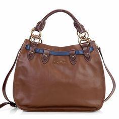 e989ff1ebee0 Miu Miu HandBags - miu miu New Napa Leather Tote Bag 1783 Coffee