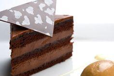 Chocolate Bourbon Torte