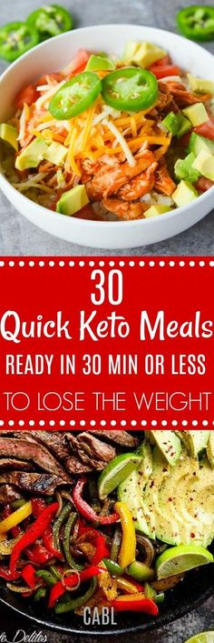 30 Keto Dinners You Can Make in 30 Minutes or Less#keto#30minorless #chasingabetterlife