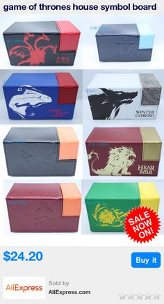 game of thrones house symbol board game cards box case containers game card for mtg cards magical ,the gatherings Yu-Gi-Oh cards * Pub Date: 02:48 Jul 12 2017