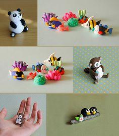 By {JooJoo} Panda, fish, corral, Monkey, birds