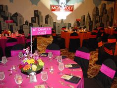 Monopoly Party / Dynamic Events   David Caruso   Stylish Corporate Events, Parties & Weddings