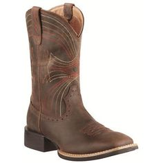 Justin Cowboy Boots Genuine Exotic Eel Skin Leather Upper Womens Size 8B R Toe